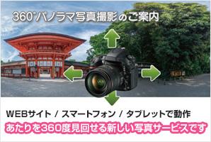 360度パノラマ写真撮影